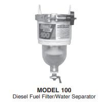 100 Series Diesel Fuel Filter Water Separators