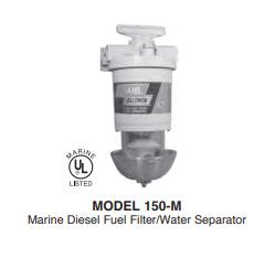 150 M Series Diesel Fuel Filter Water Separators