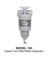 150 Series Diesel Fuel Filter Water Separators