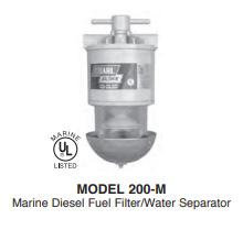 200 M Series Diesel Fuel Filter Water Separators