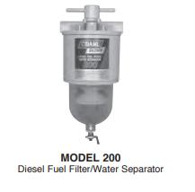 200 Series Diesel Fuel Filter Water Separators